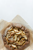 Tarta del galette de la empanada de Apple Imagen de archivo