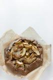 Tarta del galette de la empanada de Apple Imágenes de archivo libres de regalías