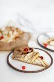 Tarta del galette de la empanada de Apple Imagenes de archivo