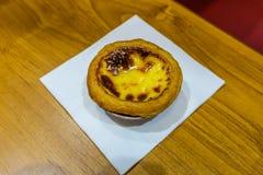 Tarta del huevo de Danta del chino foto de archivo libre de regalías
