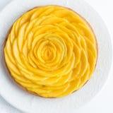 Tarta deliciosa del mango imagen de archivo libre de regalías