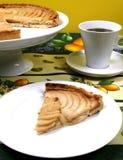 Tarta francesa de la manzana Fotografía de archivo libre de regalías