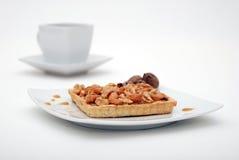 Tarta Nuts Imagen de archivo libre de regalías