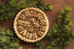 Tarta Nuts foto de archivo libre de regalías