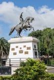 Tartagal Plaza San Martin. Plaza San Martin in the centre of Tartagal, Provincia Salta, Argentina Royalty Free Stock Image