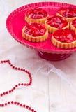 Tartalets φραουλών Στοκ εικόνες με δικαίωμα ελεύθερης χρήσης