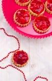 Tartalets della fragola Fotografia Stock Libera da Diritti