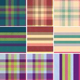 Tartan écossais, variation de tweed sans joint Photographie stock