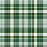 tartan картины безшовный Зеленая и белая шотландка Предпосылка фланели тартана бесплатная иллюстрация