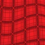 Tartan. Realistic red tartan background illustration, seamless texture Royalty Free Stock Image