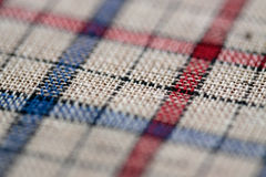 Tartan. Canvas with high texture details Royalty Free Stock Image