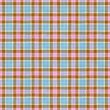 Tartan. Square piece of textile material other than in Scottish style Stock Photography