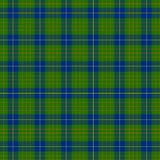 Tartan. This Cameron Hunting clan tartan was designed in the 1940s Royalty Free Stock Images