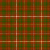 Tartan. This variant of the family sett is the Bruce Hunting tartan Royalty Free Stock Photo