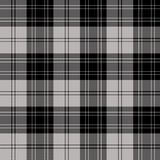 Tartan. The clan tartan, Douglas (Grey) was recorded by the sobieskis in 1842 Stock Image