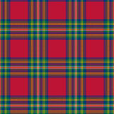 Tartan. Textured tartan plaid. Illustrated tartan background that can be used as a wallpaper Stock Images