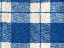 Tartan. Blue tartan wool fabric background Stock Photo