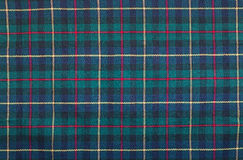 Tartan blanket background. Scottish tartan background a checked plaid weave pattern with red, green blue and yellow colours Royalty Free Stock Images