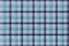 Tartan Blue pattern - Plaid Clothing Table Royalty Free Stock Image