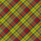 Tartan buchanan seamless diagonal Royalty Free Stock Image