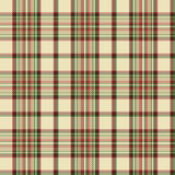 Tartan check plaid texture seamless pattern in yellow, red and green. Stock Photos
