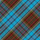 Tartan Clan Anderson diagonal seamless Stock Photography