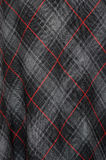 Tartan cloth detail Stock Photography