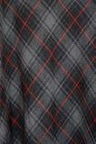 Tartan cloth detail Stock Photography