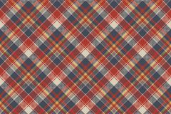 Tartan coarse fabric texture seamless pattern Royalty Free Stock Images