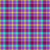 Tartan color cloth texture Stock Images