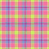 Tartan color cloth texture Stock Photo