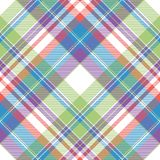 Tartan color plaid fabric seamless pattern. Flat design. Vector illustration vector illustration
