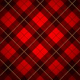 Tartan de Wallace Foto de Stock Royalty Free