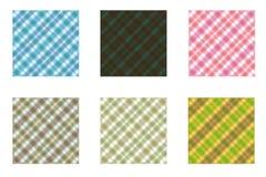 Tartan Designs Stock Image