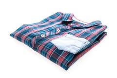Tartan- eller plädskjorta Arkivfoto