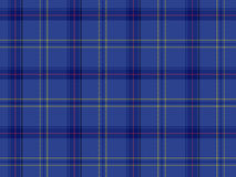 Tartan escocês azul Fotos de Stock Royalty Free