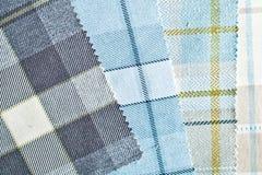 Tartan fabric Stock Image