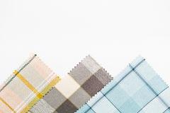 Tartan fabric Stock Images