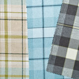 Tartan fabric Stock Photo