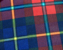 Tartan fabric Stock Photography