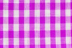 Tartan fabric as a texture Stock Photos