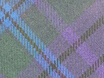 Tartan fabric background Stock Photography