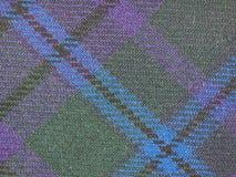 Tartan fabric background Royalty Free Stock Photos
