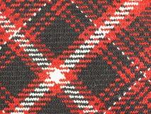 Tartan fabric background Stock Image