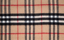 Tartan fabric. Royalty Free Stock Photo