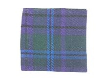 Tartan fabric sample Royalty Free Stock Photography