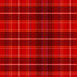 Tartan Fabric Texture. Illustration of Red Tartan Fabric Texture / Vector Royalty Free Stock Photography