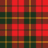 Tartan fabric texture in a square pattern seamless Royalty Free Stock Photos