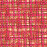 Tartan fabric texture. Seamless pattern. Hand-drawn illustration Royalty Free Stock Image