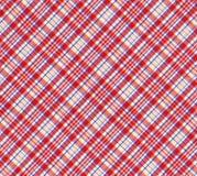 Tartan fabrics Stock Images